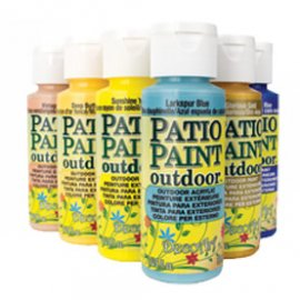 Patio paint outdoor, Deco Art