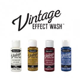 Vintage effect Wash, DecoArt