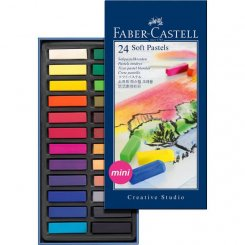 Soft pastels Faber-Castell 24 st torrpastell mini