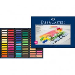 Soft pastels Faber-Castell 74 st torrpastell mini