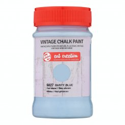 Art Creation, Dusty Blue, Vintage Chalk Paint, 100 ml