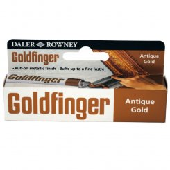 Goldfinger Antikguld Antique Gold Metallpasta