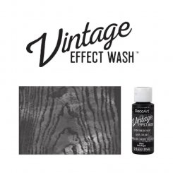 Black vintage effect wash DecoArt