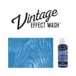 Blue vintage effect wash DecoArt