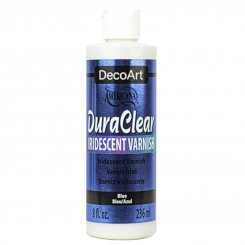 DuraClear Iridescent Varnish Blue DecoArt