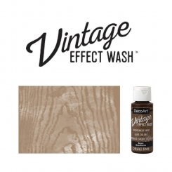 Brown vintage effect wash DecoArt