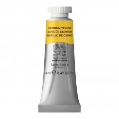 Cadmium Yellow 108 W&N Professional akvarell tub 14 ml