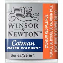 Camium red pale hue 103 Cotman Winsor & Newton