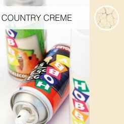 Country Creme Ghiant hobby crackle colours