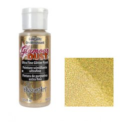 Glamour dust ultra fine glitter paint deco art copper