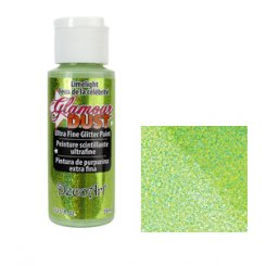 Glamour dust ultra fine glitter paint decoart