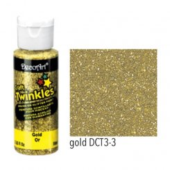 Craft Twinkles Gold DecoArt