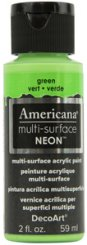Green NEON Americana Multi-Surface