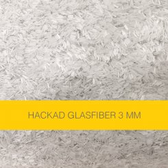 Hackad glasfiber 3 mm