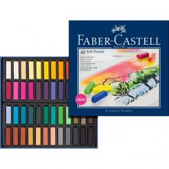 48 st mjukpastell soft pastels kritor faber-castell