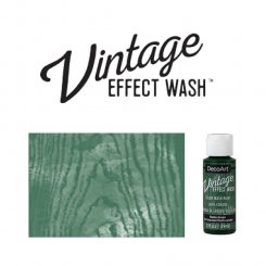 Hunter green vintage effect wash DecoArt