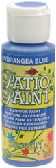 Hydrangea Blue Patio Paint