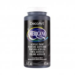 Americana Acrylics Lamp black 473 ml DAO67