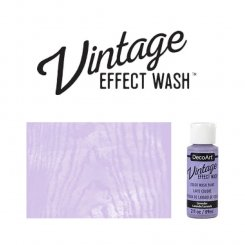 Lavender vintage effect wash DecoArt