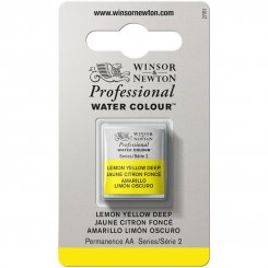 Lemon Yellow Deep W&N Akvarell Professional  halvkopp