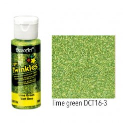 Craft Twinkles Lime green DecoArt