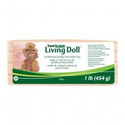 Living doll beige Super Sculpey