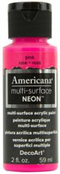 Pink NEON Americana Multi-surface