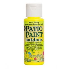 Neon Yellow Patio Paint DecoArt