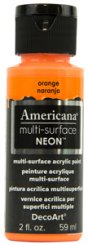Orange NEON Americana Multi-Surface
