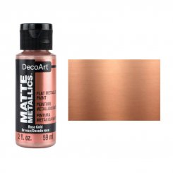 Matte Metallic Rose Gold DMMT01 DecoArt