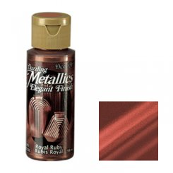 Royal Ruby - Dazzling Metallics DecoArt