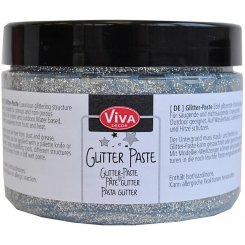 Glitter paste Viva Decor 150 ml Silver