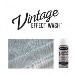 Silver vintage effect wash DecoArt