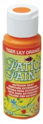 Tiger Lily Orange - Patio Paint