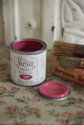 kalkfärg  Vintage Paint - vintage red - 100 ml