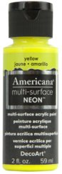 Yellow NEON Americana Multi-Surface