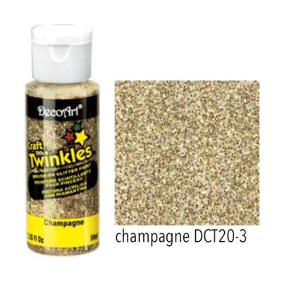 Craft Twinkles Champagne DecoArt