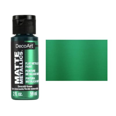 Matte Metallic Emerald Green DMMT10 DecoArt