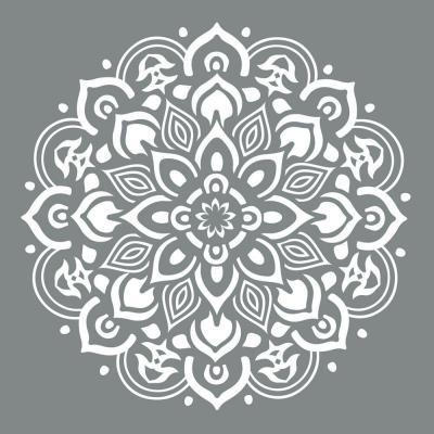 Mandala Vintage Style Schablon Schabloner Stenciler
