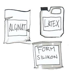 latex för gjutning