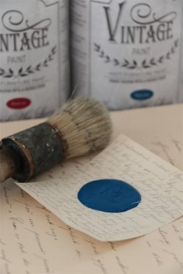 Kalkfärg Vintage Paint - Warm blue - 100 ml