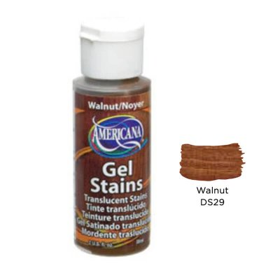 Gel stains DecoArt Walnut