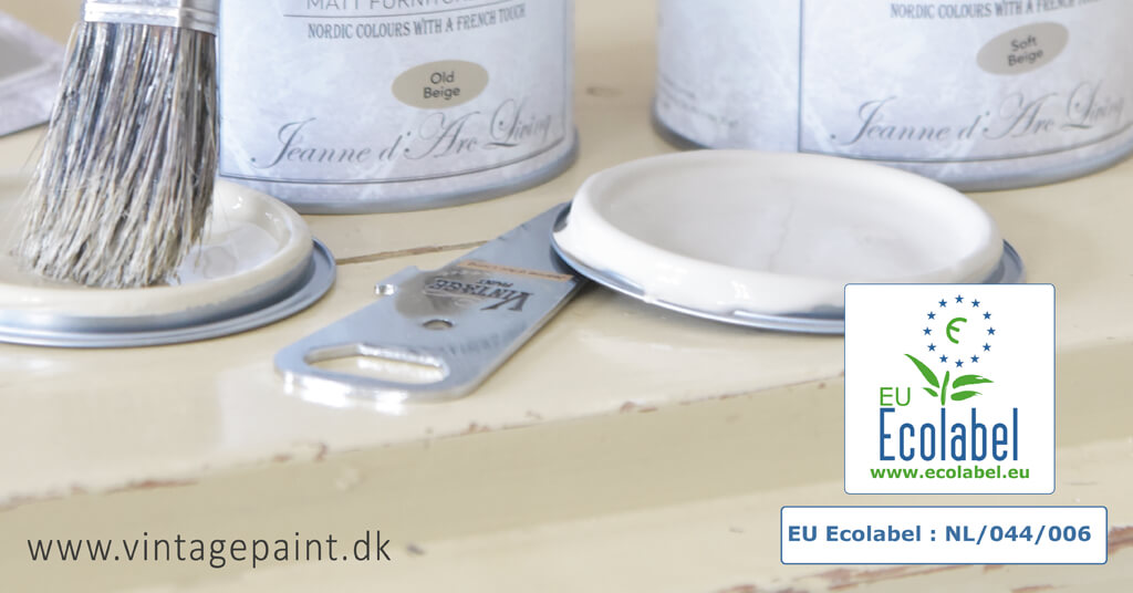 Vintage Paint Jeanne d'Arc Living Ecolabel